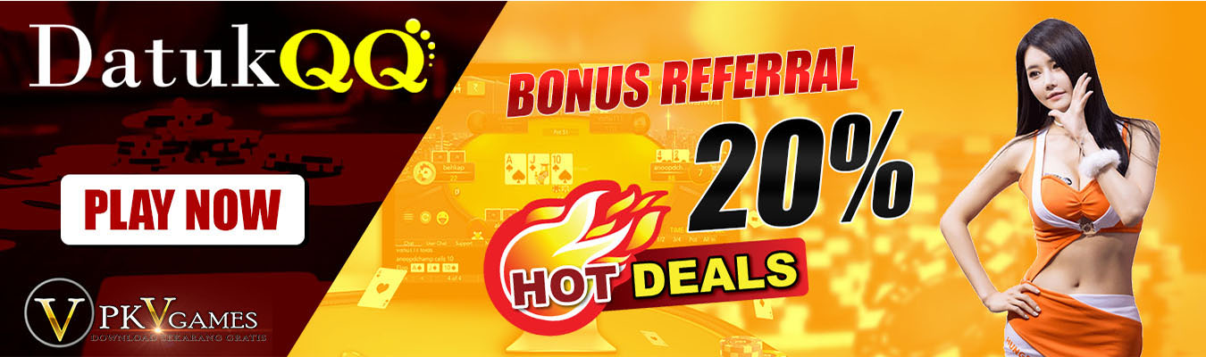 Bonus referral judi poker online